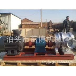 现货销售球墨铸铁材质三叶转子的LCWR-100/0.6罗茨泵