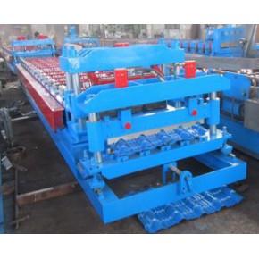 830-950全自動定長切斷琉璃瓦壓型設備