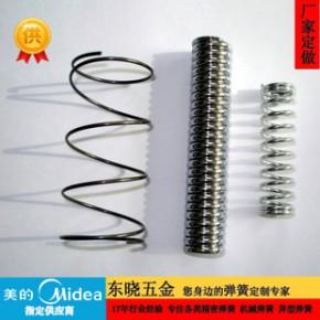 定制 高硬度弹簧钢压簧 东莞压缩弹簧厂 防锈304压簧定制