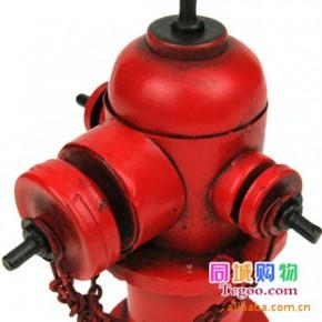 鐵皮玩具JLFH1772S 仿古消防栓模型