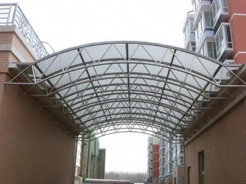 方航渡路专业钢结构雨棚制作精美耐用