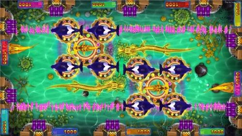 海底世界游戏机