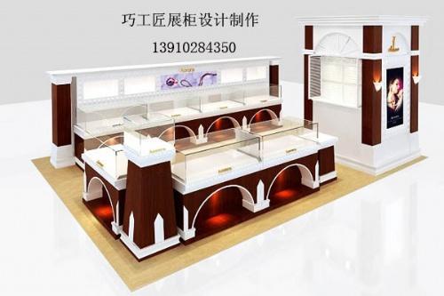 【珠宝展柜设计】-展柜北京烤漆精品展柜设计制作厂