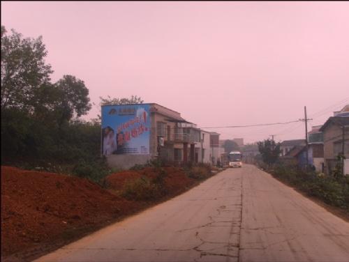 湘潭立信广告传媒 专业墙体喷绘