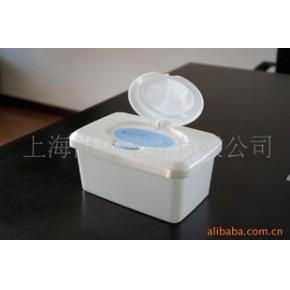 80片双色湿巾包装盒,湿巾盒,塑料盒,包装盒