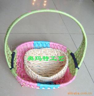 最精美的最便宜的绳编工艺篮子