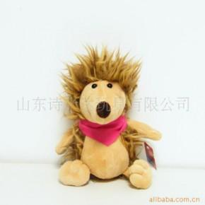 nici红领巾刺猬毛绒玩具,多个尺寸超高质量