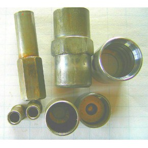 提供液壓膠管接頭套冷鐓加工 毛坯和成品