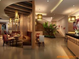 空间餐饮室内设计,装修设计,效果图设计靳埭强字体制作1001图片