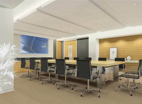苏州办公室装修,现代时尚办公室设计公司 同济装潢