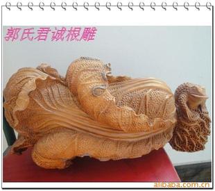 长沙枣木柏树岩柏根雕技法 红豆杉根雕图片100图