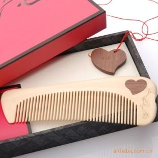 谭木匠正品 礼盒恒(一) 男士木梳子手珠挂饰套装礼品