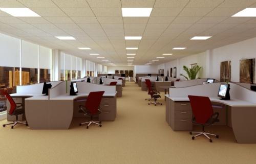 突破传统办公室的设计理念