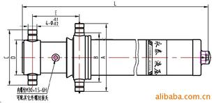 长期供应液压油缸4tg-180*4600图片