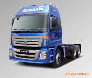 销售欧曼牵引车6*4电喷375w1四气门(现车)