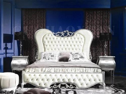 特价 新古典家具新古典床 布艺床布软床 欧式床秒杀实木床双人