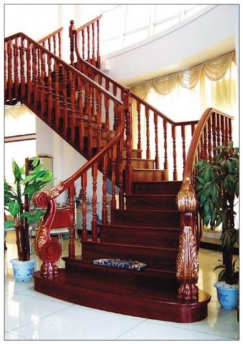 【红木楼梯】价格|批发|厂家