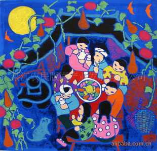 版画 《中秋节》