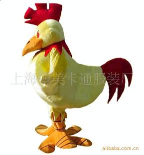 纸箱手工制作鸡