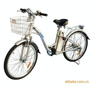 环保型锂电池电单车24寸电动自行车