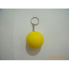 网球PU料骰子钥匙扣 恒信