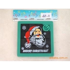 圣诞老人拼图 塑料 恒信