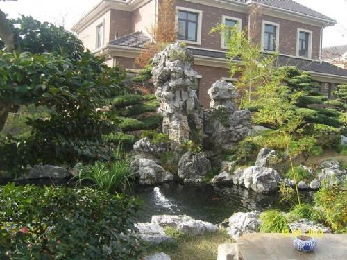 【大型太湖石假山】_寿光鲁班古典园林景观工程有限