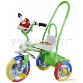 可推可騎兒童三輪車,方便又輕巧,