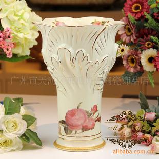 新品欧式陶瓷花瓶 高档家居装饰 瓷器工艺品jf2027y-a139-11.