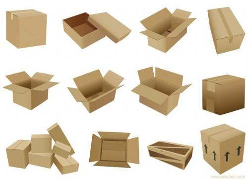 包装结构图和效果图