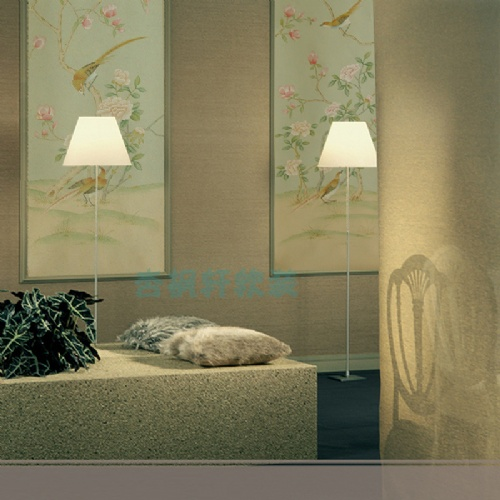 丝绸手绘壁纸 真丝手绘墙纸 刺绣壁纸