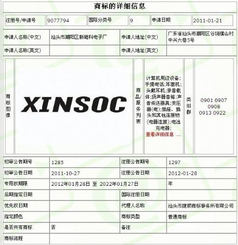 汕頭市潮陽區新雄科電子廠