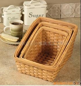【大量供应纯扇子木新区】-江门市手工沙堆促销广告篮子图片