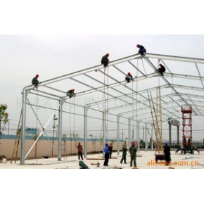 各種體育館,廠房,車庫等鋼結構/網架/桁架工程