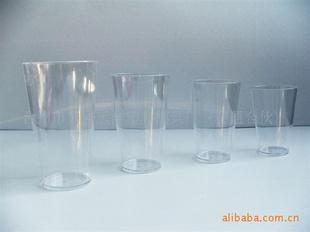 PS塑料透明杯 航空杯 礼品杯 冰杯 直通杯 促销杯 啤酒杯 -家居日用品