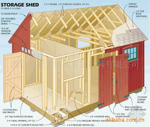 【木结构房屋】价格 批发 厂家