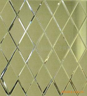 菱形花纹玻璃贴图