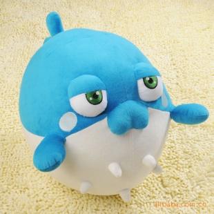 海底世界 憨厚香瓜 40厘米 毛绒玩具 毛绒公仔 动漫玩具