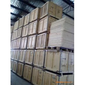 長期供應出口木箱 松木、膠合板