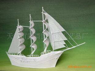 黑色模型空间帆船图纸背景图片