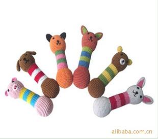 宠物玩具 手工编织动物骨头