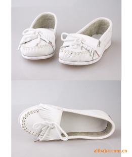 牛皮小白鞋 迷你唐卡鞋 超软女