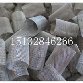 钢板网过滤网筒、菱形孔过滤网筒、工业用圆柱过滤网