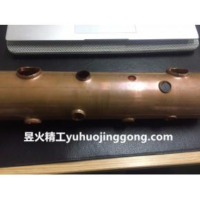 手持式铜管铝管拔孔机-太阳能空调铜管数控拔孔机