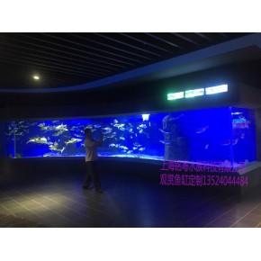 海洋馆定制大型弧形月亮鱼缸