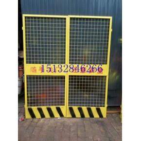 建筑施工电梯防护网门、挂钩式临时电梯防护门