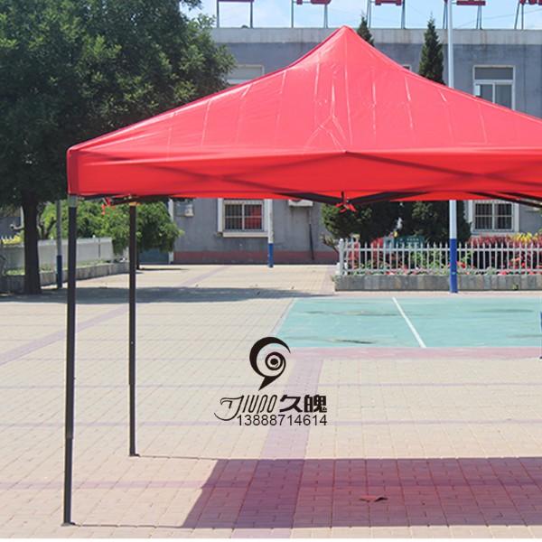 广告折叠帐篷印字车棚夜市摆摊帐篷伞雨棚雨篷户 图2