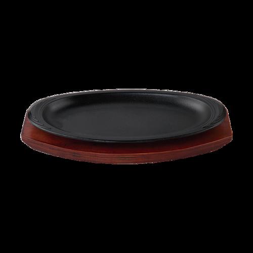 金丽鑫铁板烧烤盘时尚系列铁板烧时尚腰型铁板烧