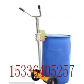 DE450手推油桶车DE450油桶搬运车