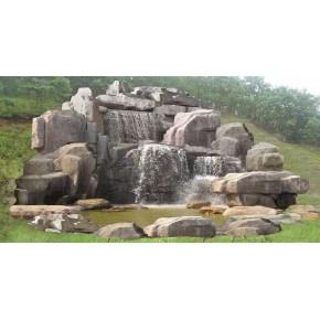 人造假山塑石首选佳木斯景观雕塑